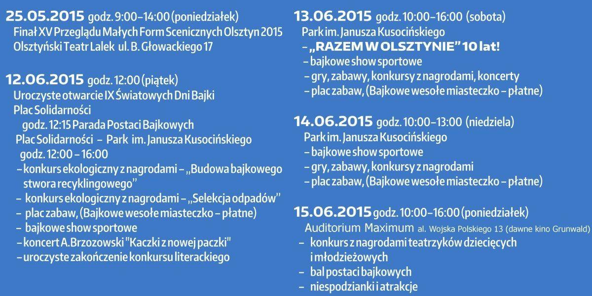 program IX SDB 2015